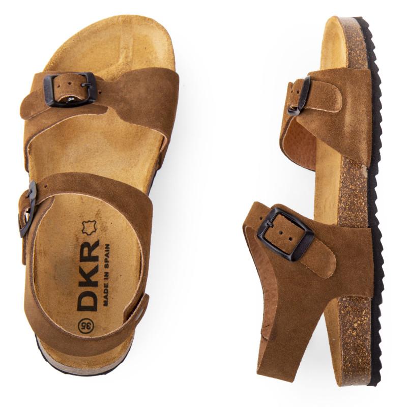 Sandales en cuir garçon DKR marque pas cher prix dégriffés destockage