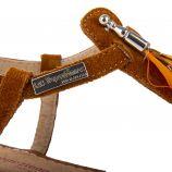 Sandales en cuir plume GAELLE femme LES TROPEZIENNES marque pas cher prix dégriffés destockage