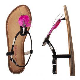 Sandales en cuir plume GAELLE femme LES TROPEZIENNES
