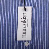 Chemise à rayures blanches homme MANOUKIAN marque pas cher prix dégriffés destockage