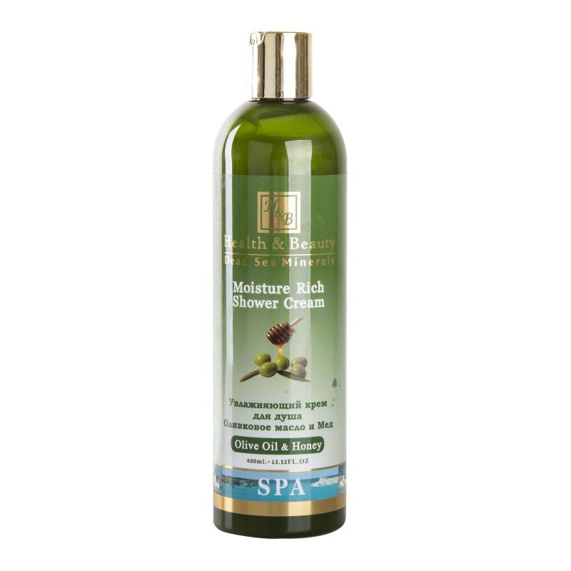 Gel douche hydratant à l'huile d'olive HEALTH AND BEAUTY marque pas cher prix dégriffés destockage