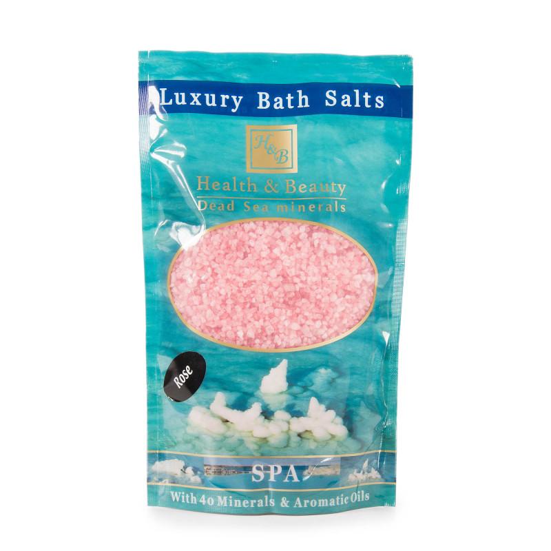Sel de bain rose Health and Beauty marque pas cher prix dégriffés destockage