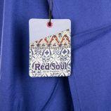 Débardeur bleu à pompons femme RED SOUL marque pas cher prix dégriffés destockage