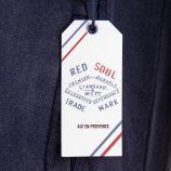 Sweat bleu marine à slogan homme RED SOUL marque pas cher prix dégriffés destockage