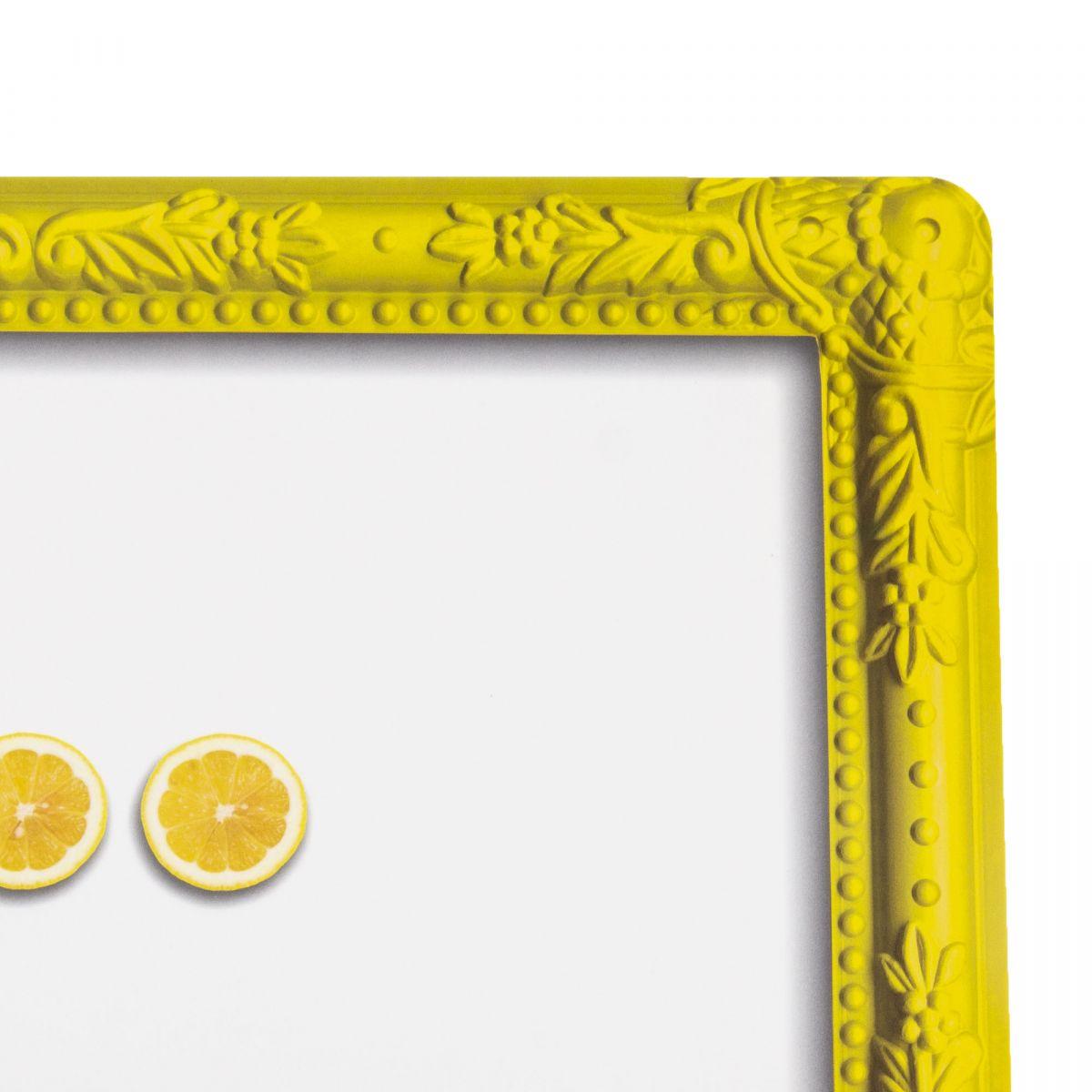 set de table jaune et blanc citron guzzini prix d griff. Black Bedroom Furniture Sets. Home Design Ideas