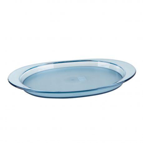 Grand plateau ovale en plexiglas GUZZINI marque pas cher prix dégriffés destockage