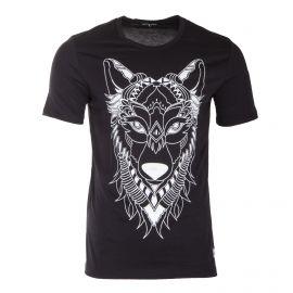Tee shirt à manches courtes lion homme AAKON MOEW