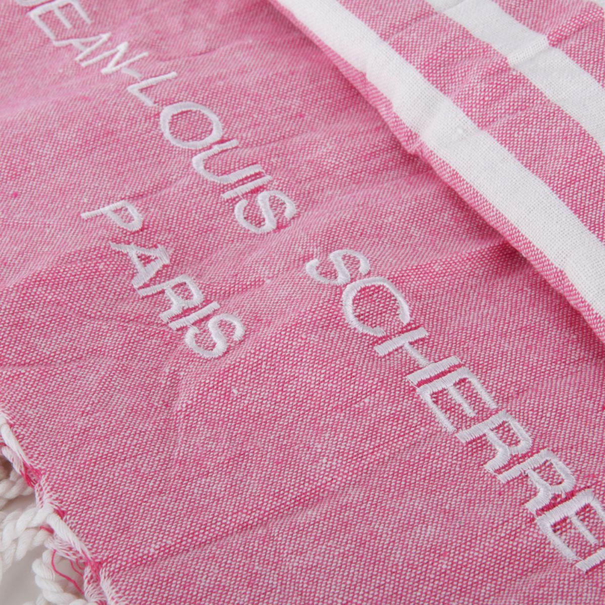 fouta de plage en coton jean louis scherrer prix d griff. Black Bedroom Furniture Sets. Home Design Ideas
