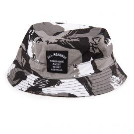 Bob camouflage gris noir et blanc homme ELEVEN PARIS