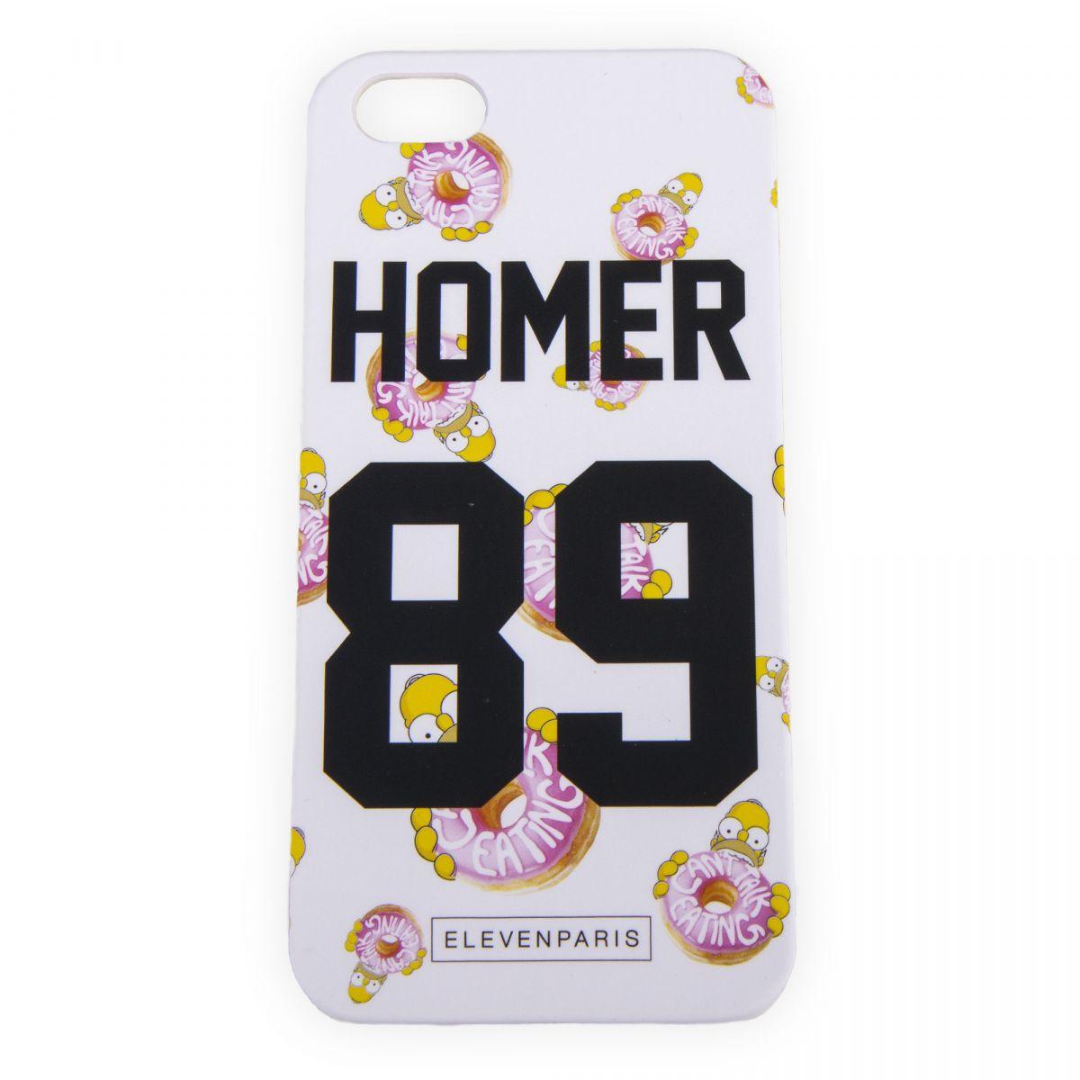 Coque iPhone 5/5s Homer Simpson ELEVEN PARIS à prix dégriffé !