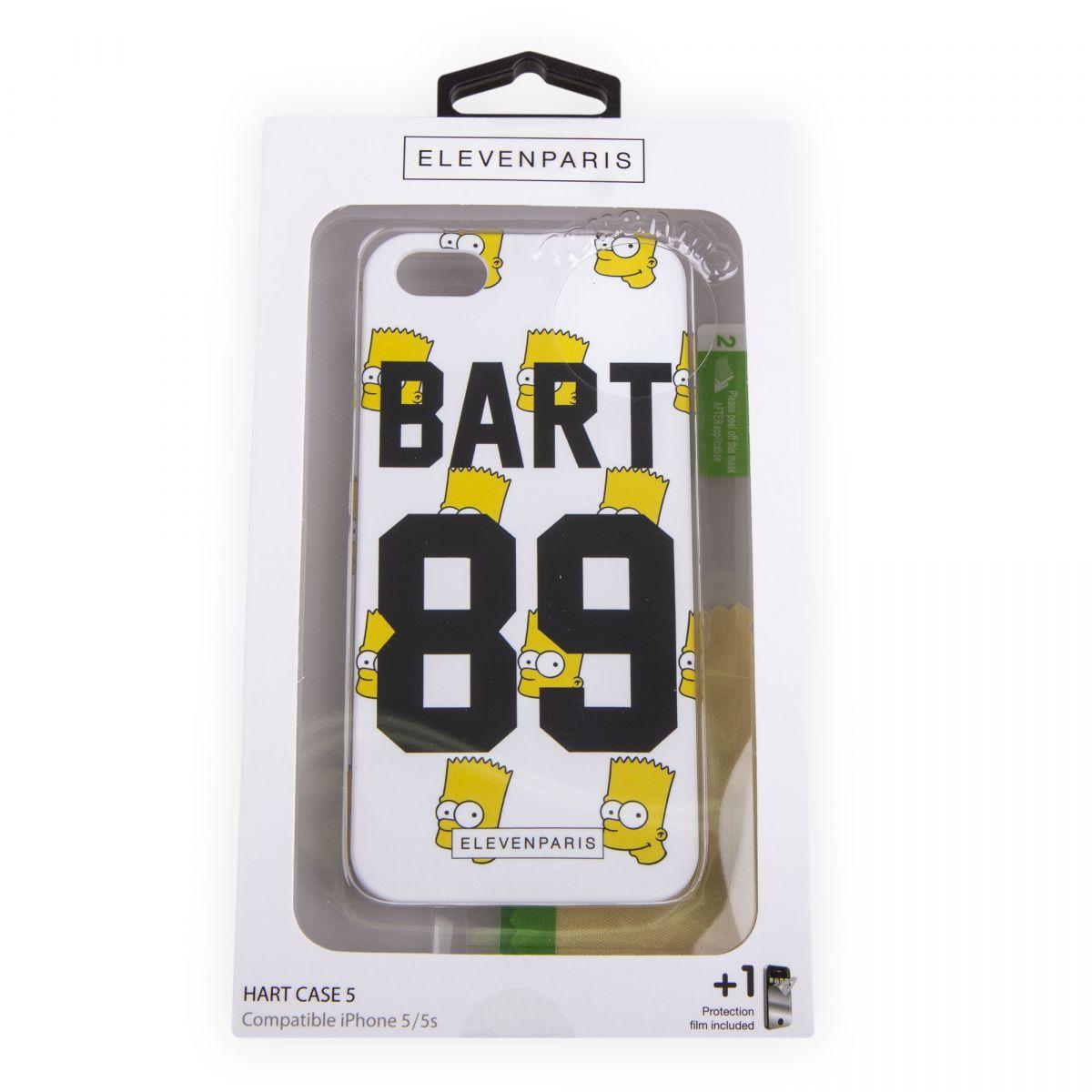 Coque iPhone 5/5s Bart Simpson ELEVEN PARIS à prix dégriffé !