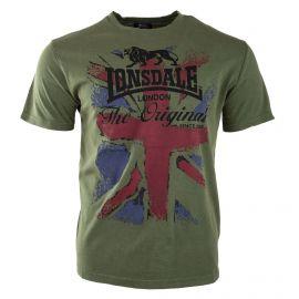 Tee-shirt à col rond homme LONSDALE marque pas cher prix dégriffés destockage