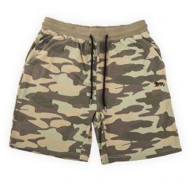 Bermuda en coton motif camouflage homme LONSDALE marque pas cher prix dégriffés destockage