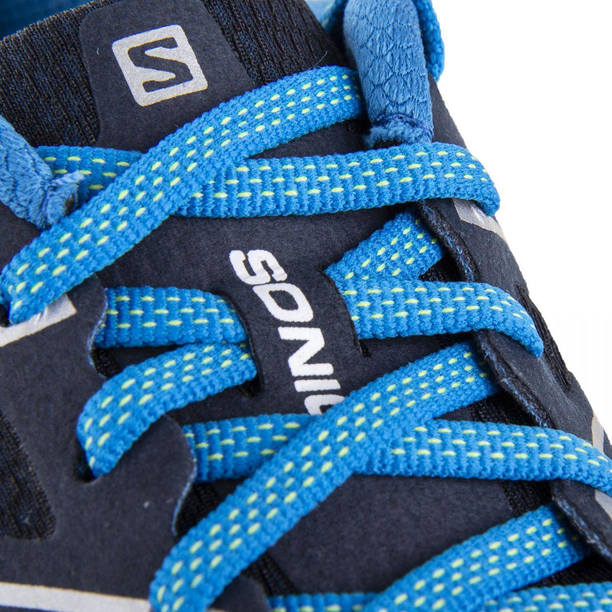 f0e69a28dd17 ... Baskets running bleues Ortholite Homme SALOMON marque pas cher prix  dégriffés destockage
