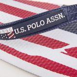 Tongs en plastique drapeau usa homme US POLO marque pas cher prix dégriffés destockage