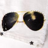 Short imprimé lunette femme LEGZ marque pas cher prix dégriffés destockage