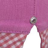 Pantacourt détails carreaux vichy femme LEGZ marque pas cher prix dégriffés destockage