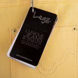 Pantalon jegging plumes et sequins femme LEGZ marque pas cher prix dégriffés destockage