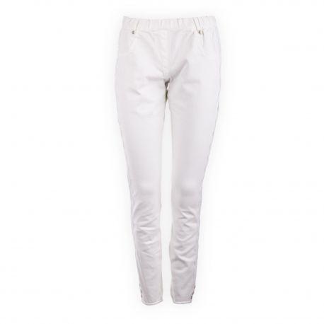 Pantalon jegging détail dentelle femme LEGZ marque pas cher prix dégriffés destockage
