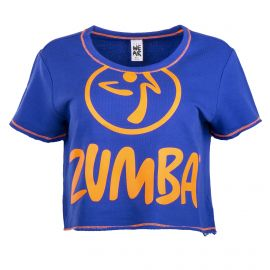 Sweat court à manches courtes femme ZUMBA