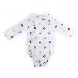 Body manches longues à motif bébé ADEN + ANAIS marque pas cher prix dégriffés destockage