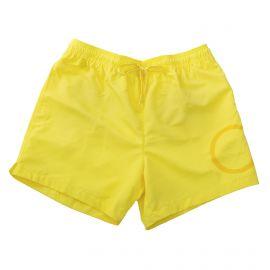 Short de bain jaune homme Calvin Klein marque pas cher prix dégriffés destockage