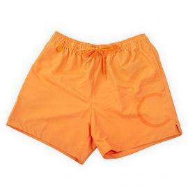 Short de bain orange homme Calvin Klein marque pas cher prix dégriffés destockage