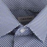 Chemise bleue imprimé graphique homme CALVIN KLEIN marque pas cher prix dégriffés destockage