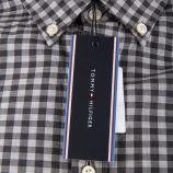 Chemise grise à carreaux homme TOMMY HILFIGER marque pas cher prix dégriffés destockage