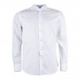 Chemise blanche à points blancs homme TRU TRUSSARDI
