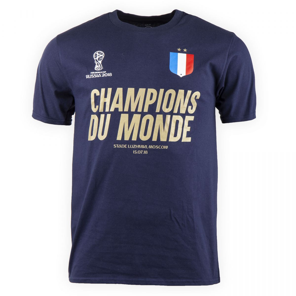 tee shirt champions du monde homme fifa prix d griff. Black Bedroom Furniture Sets. Home Design Ideas