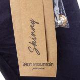 Jean skinny bleu marine femme Best Mountain marque pas cher prix dégriffés destockage