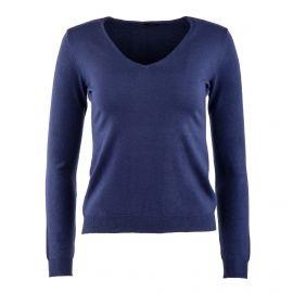 Pull laine cachemire col V femme Real Cashmere marque pas cher prix dégriffés destockage