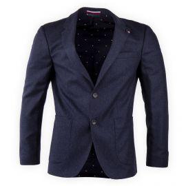 Veste blazer bleu foncé homme TOMMY HILFIGER marque pas cher prix dégriffés destockage