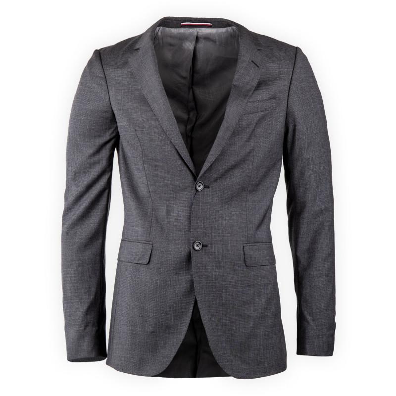 Veste de costume grise homme TOMMY HILFIGER marque pas cher prix dégriffés destockage