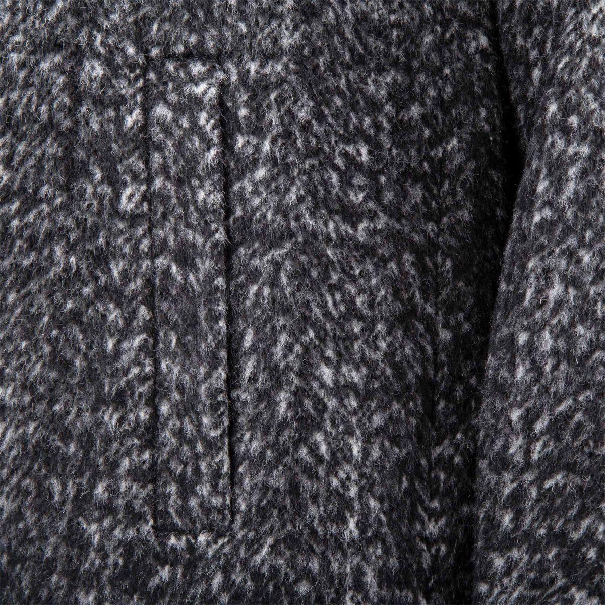 Manteau gris chine pas cher