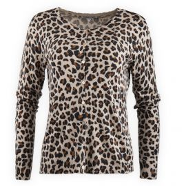 6bec07a0d50d Gilet imprimé léopard femme Best Mountain marque pas cher prix dégriffés  destockage