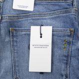 Jean low-rise skinny fit stretch femme LA PARISIENNE SCOTCH & SODA marque pas cher prix dégriffés destockage