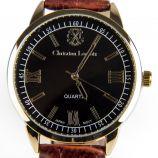 Montre bracelet marron crocodile Homme CHRISTIAN LACROIX marque pas cher prix dégriffés destockage