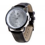 Montre ronde bracelet cuir noir Homme CHRISTIAN LACROIX marque pas cher prix dégriffés destockage