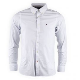 Chemise blanche slim fit Homme TOMMY HILFIGER
