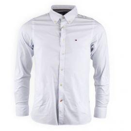 Chemise blanche slim fit Homme TOMMY HILFIGER marque pas cher prix dégriffés destockage