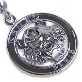Collier chaîne pendentif tête de tigre argent rhodié Femme KENZO marque pas cher prix dégriffés destockage