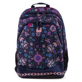Sac à dos noir fleuri Femme Mandala Proschool RIP CURL marque pas cher prix dégriffés destockage