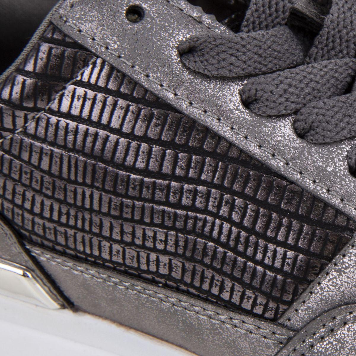 01da9a833d37 Baskets Sneakers Arsoncat grises Femme GEORGES RECH à prix dégriffé !