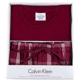 Coffret ensemble pyjama rouge Homme CALVIN KLEIN