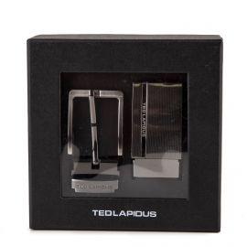 Coffret 2 boucles de ceinture Caligula Homme TED LAPIDUS marque pas cher prix dégriffés destockage