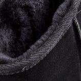 Boots fourrées noires Snow Femme LES TROPEZIENNES marque pas cher prix dégriffés destockage