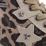 Baskets sneakers léopard velour Calicia Fille LES TROPEZIENNES marque pas cher prix dégriffés destockage
