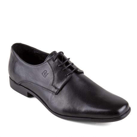 Chaussures derbies noires cuir Futur Homme PIERRE CARDIN marque pas cher prix dégriffés destockage